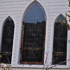 Church Windows - Silver City, Idaho by CADavis