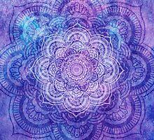 Purple Mandala by Jeff East