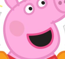 Peppa Pig Beach Sticker