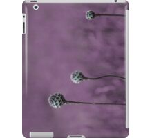 Purple garden iPad Case/Skin