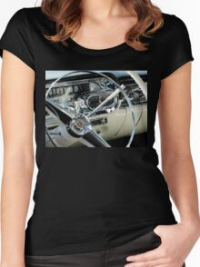 Classic Chrysler Car Women's Fitted Scoop T-Shirt