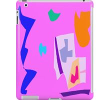 No Plan Sun Orange Blue River New Fall iPad Case/Skin