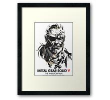 Metal Gear Solid V Framed Print