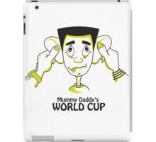 Mummy Daddy's World cup iPad Case/Skin