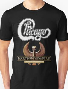 chicago earth wind fire Tour 2 T-Shirt