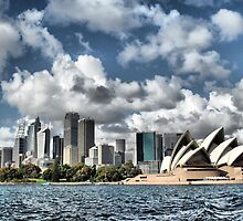Sydney Skyline by SkatingGirl