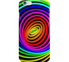 Psychedelic Concentric Circles iPhone Case/Skin