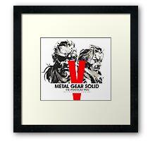 Metal Gear Solid V The Phantom Pain Framed Print