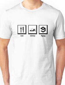 eat, sleep, 9gag Unisex T-Shirt