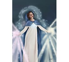 Saint Mary - Rays of Healing Photographic Print