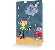 Rocket Rocks!! Greeting Card