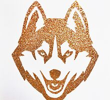 UConn huskies glitter logo by sammisweets