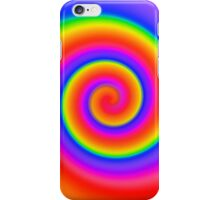 Psychedelic Color Swirl iPhone Case/Skin