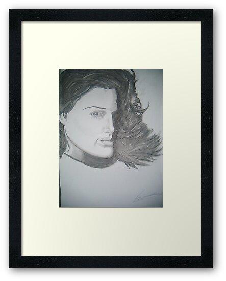 Natalie Portman by Paul Trewartha
