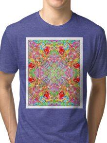 Quatrain Hearts Tri-blend T-Shirt