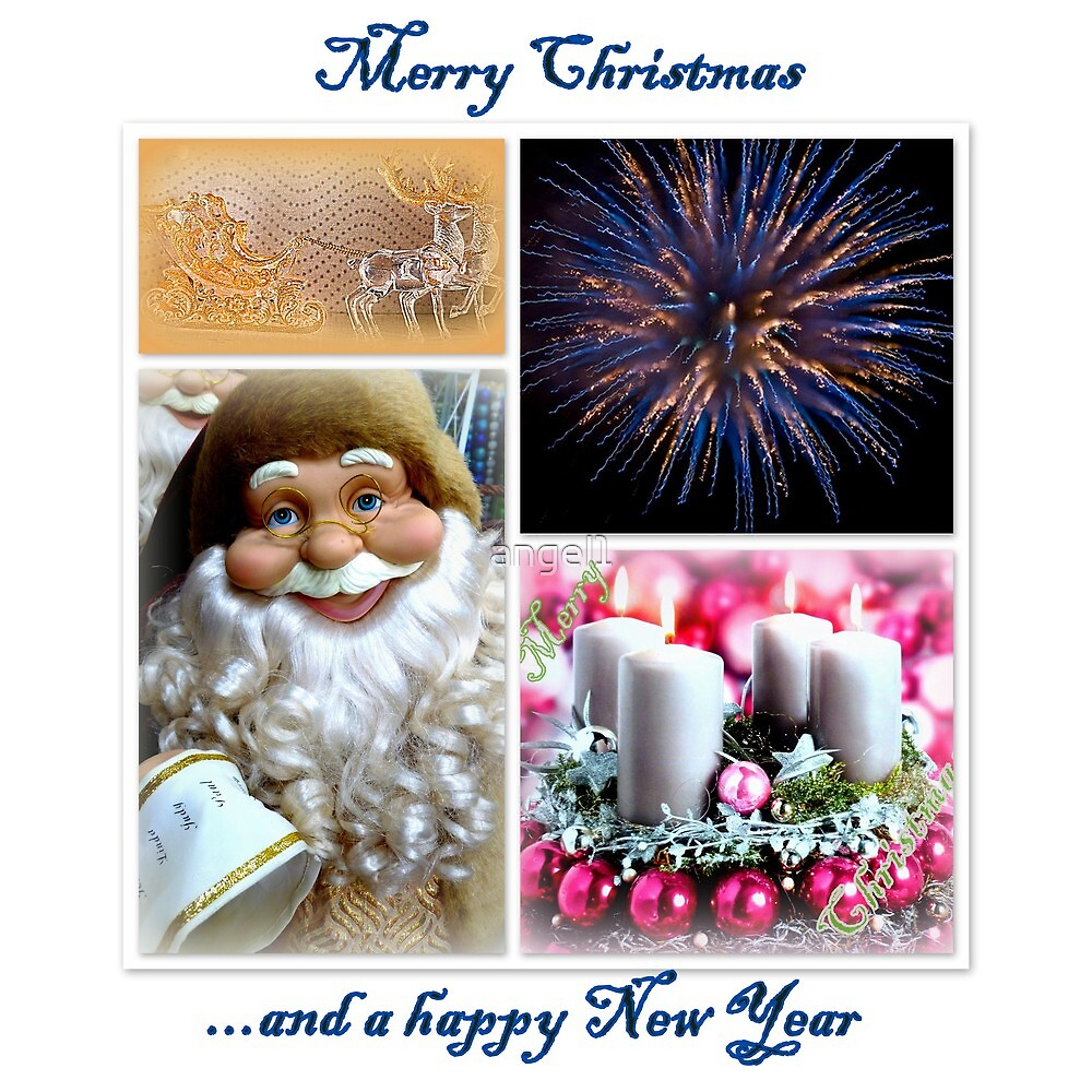 Merry Christmas and a Happy New Year by ©The Creative  Minds