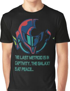 SUPER METROID DEBRIEFING Graphic T-Shirt