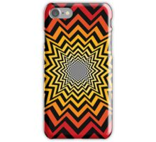 Radial Explosion Pattern iPhone Case/Skin