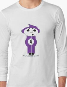Pocket Pool League (Purple Ball) Long Sleeve T-Shirt
