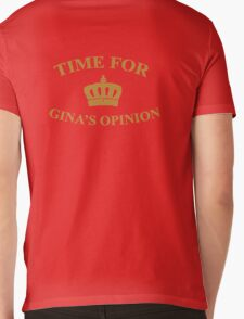 Time for Gina's opinion Mens V-Neck T-Shirt
