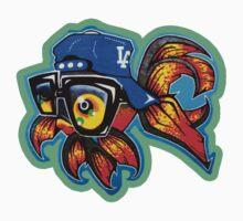Graffiti Fish by BORNCRAZY