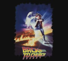 Back To The Future Vintage Movie Poster Kids Clothes