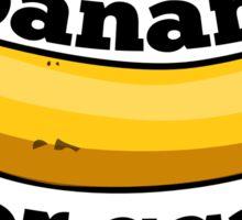 banana for scale (9gag) Sticker