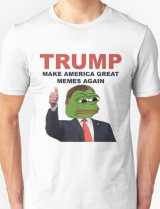 Donald Trump Pepe Frog T-Shirt