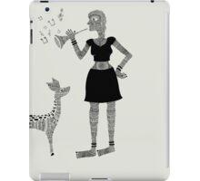 Patterned Girl iPad Case/Skin