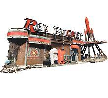 Red Rocket Station by HeySteve