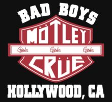 Motley Crue - Bad Boys by milica3