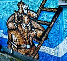 Bremen Graffiti - Viertel by A.David Holloway
