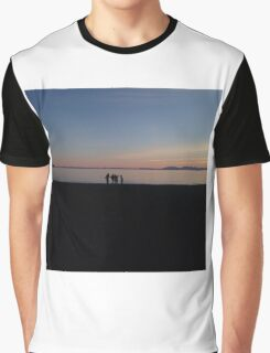 sunset by the beach Graphic T-Shirt