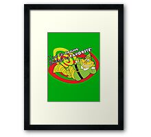 Buddy the Cheshire Elf - Smiling's my favorite! Framed Print