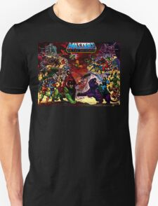 Masters of the Universe He-man Action Figures T-Shirt