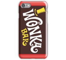 Wonka Chocolate Bar iPhone Case/Skin