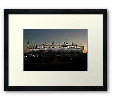 Olympic Stadium Afterglow Framed Print