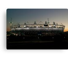Olympic Stadium Afterglow Canvas Print