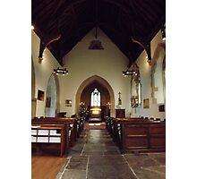 Butleigh Church, Somerset, UK Photographic Print