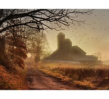 The Road to Amish Country Photographic Print