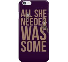 Chance the Rapper Childish Gambino All She Needed  iPhone Case/Skin