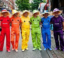 Hamburg Pride Parade by A.David Holloway
