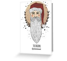 Lumberclaus Greeting Card