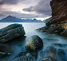 Elgol : Joe's Rock by Angie Latham