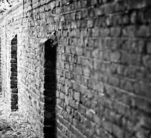 A Wall Along a Path in Southwark #2 by A.David Holloway