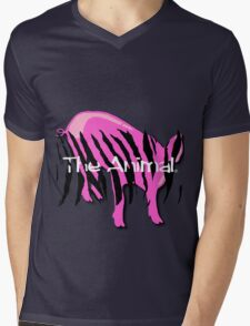 Pig - The Animal in YOU Mens V-Neck T-Shirt