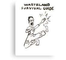 Wasteland Survival Guide - Cover - Fallout 4 Canvas Print