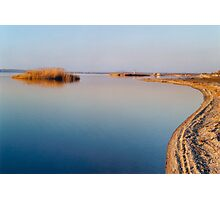 Lake Curves Photographic Print