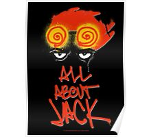 ALL ABOUT JACK-BLACK Poster
