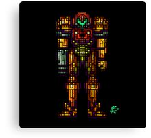 Samus Aran - The Metroid Slayer Canvas Print